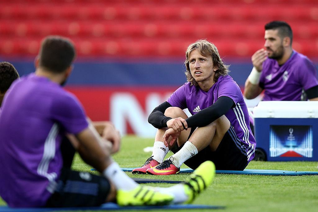 Malas noticias para el Madrid y Croacia; Modric se lesionó