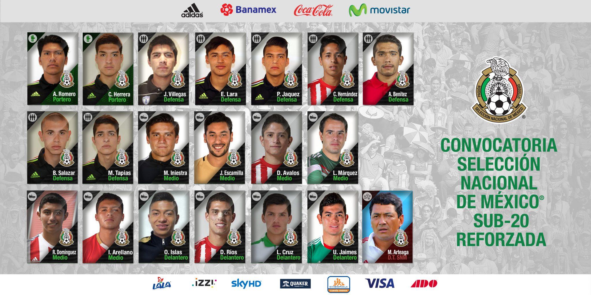 Sub 20: Listo El Tri Sub-20 Para Enfrentar A Canteranos De MLS