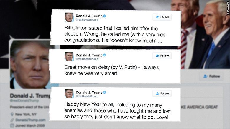 ¿Qué cuenta de Twitter usará Trump cuando asuma la presidencia de EU?