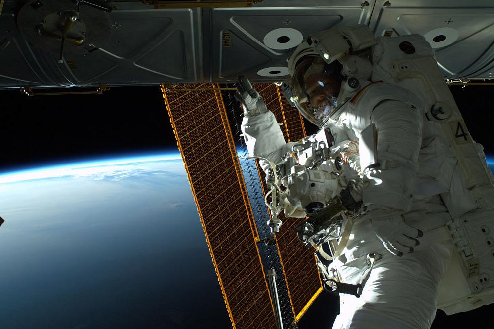 NASA realizó la primera transmisión en vivo desde el espacio