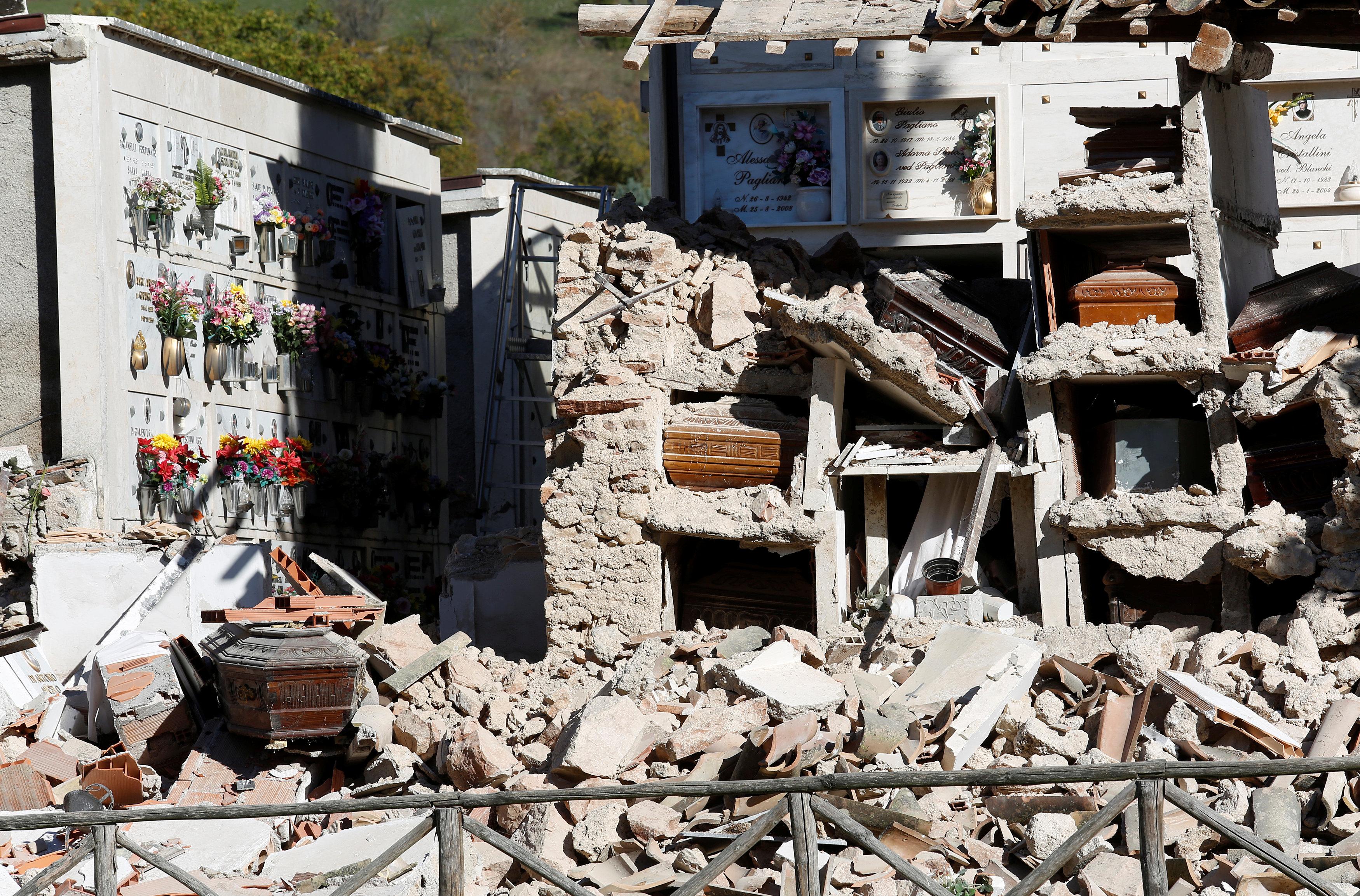 ¿Por qué últimamente ha habido tantos sismos en la región central de Italia?