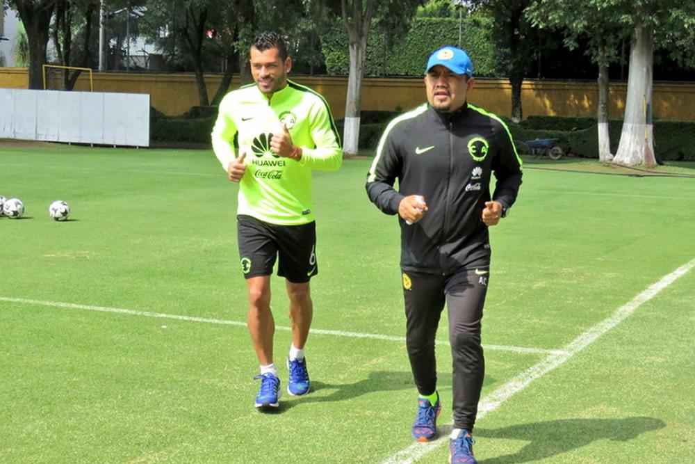 América regresó a entrenar sin Moisés, pero con Güemez y Samudio