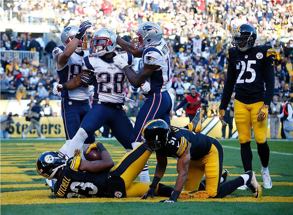 Patriots y Brady fundieron acero en Heinz Field