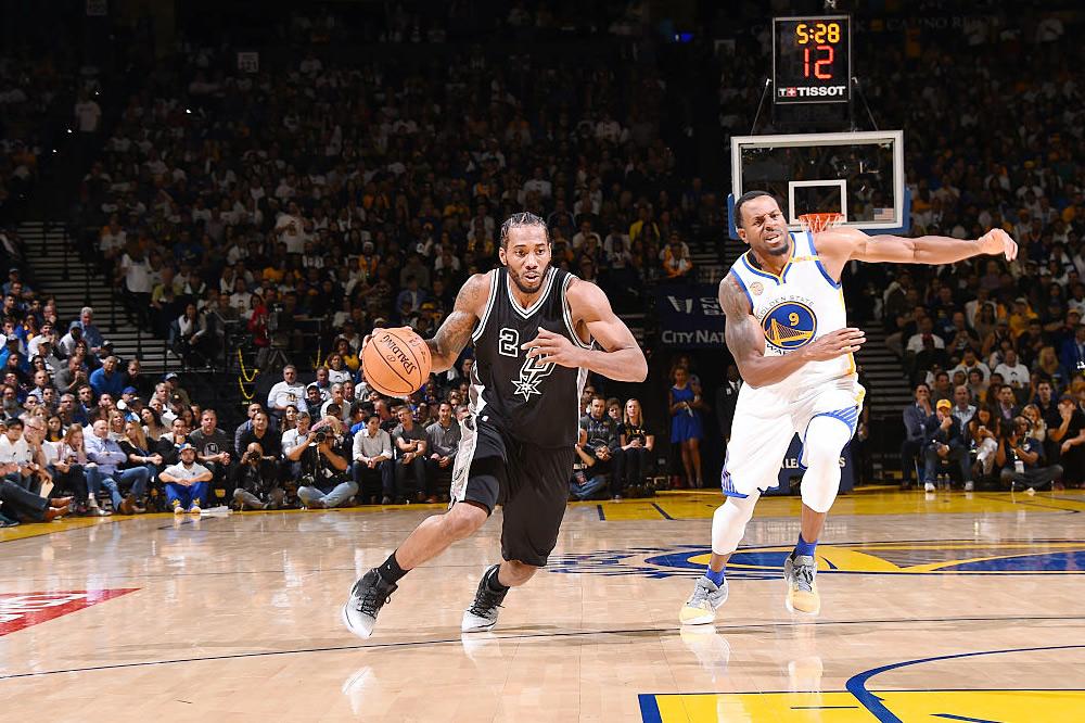 Spurs fueron los aguafiestas de Kevin Durant y Warriors