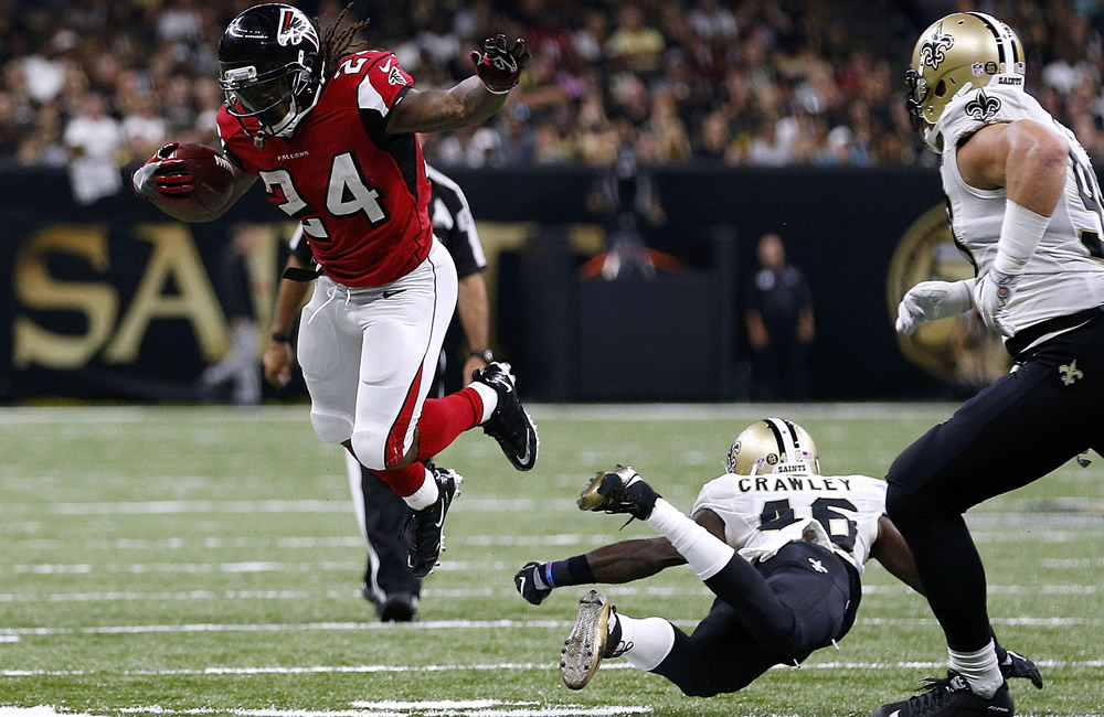 Falcons abrieron las alas en New Orleans