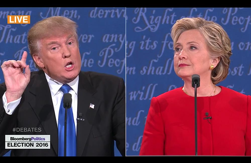 Twitter hace historia al transmitir debate Trump-Clinton