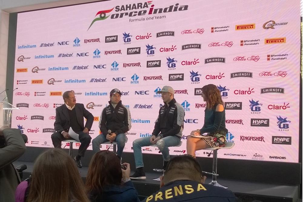 Checo, al nivel de los mejores pilotos F1
