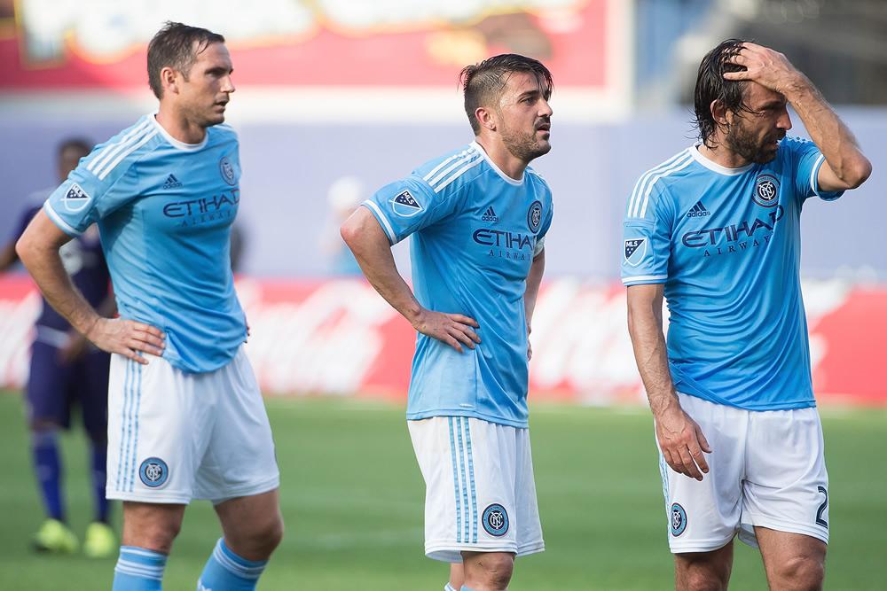 Pirlo y Lampard enfrentarán al Necaxa en Aguascalientes