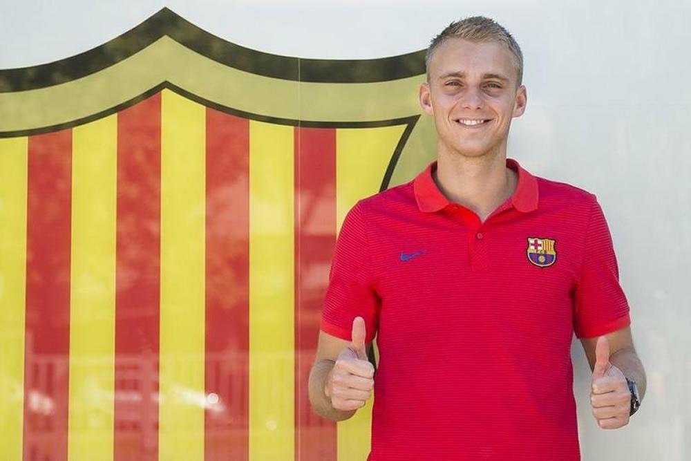 Barça  confirmó el fichaje del portero Jasper Cillessen