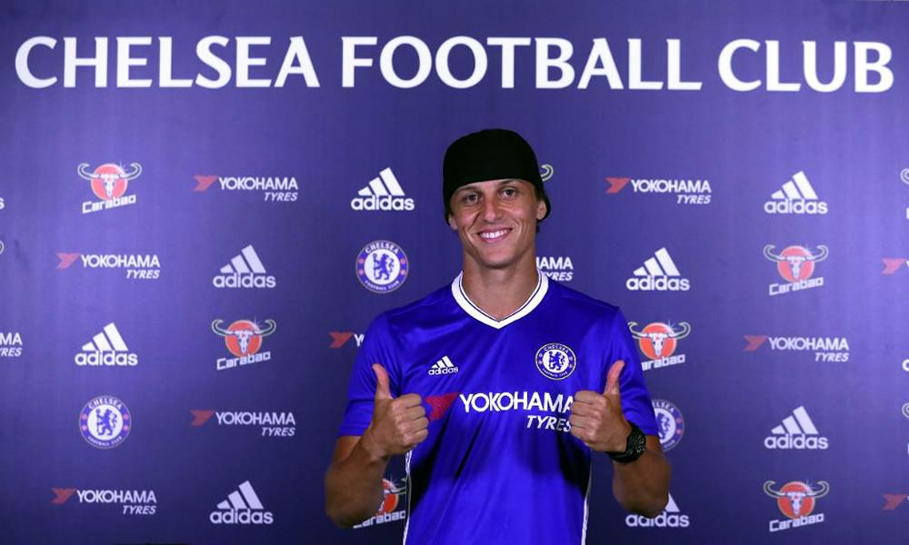 ¡David Luis regresa al Chelsea!