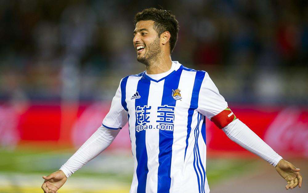 Carlos Vela, el tercer extranjero con más partidos en la Real Sociedad