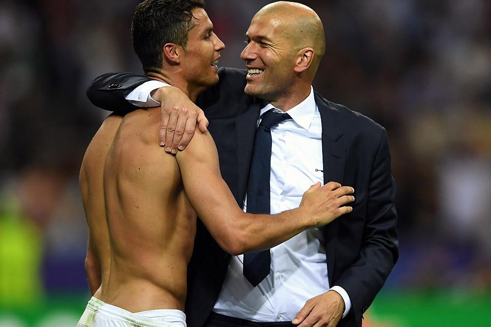 Cristiano se merece el Balón de Oro: Zidane