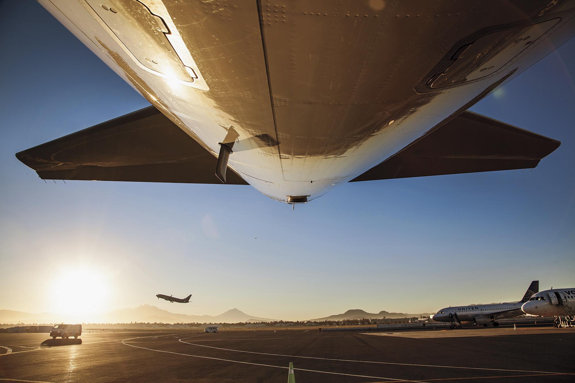 México registra un mayor flujo de pasajeros aéreos a julio