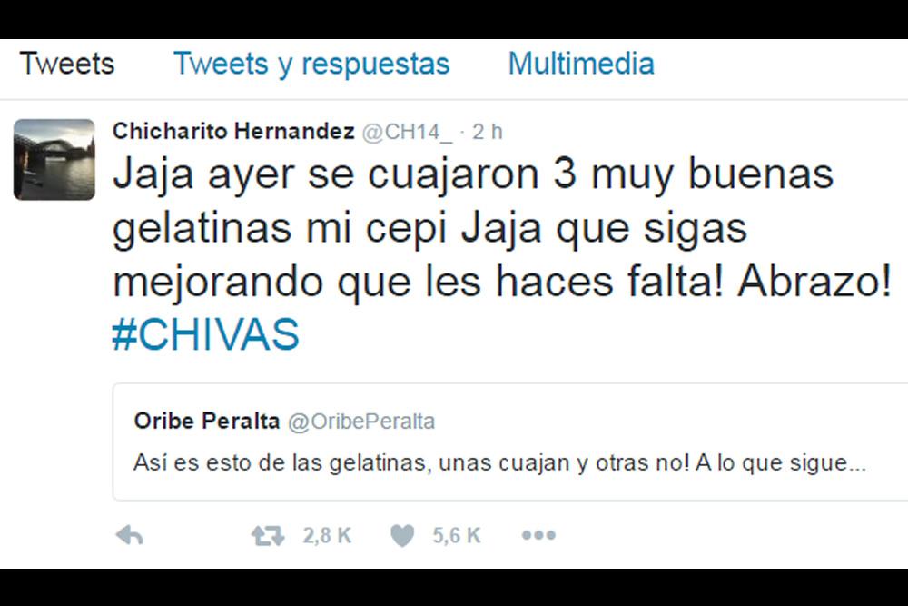 Chicharito cree que a América le urge Oribe
