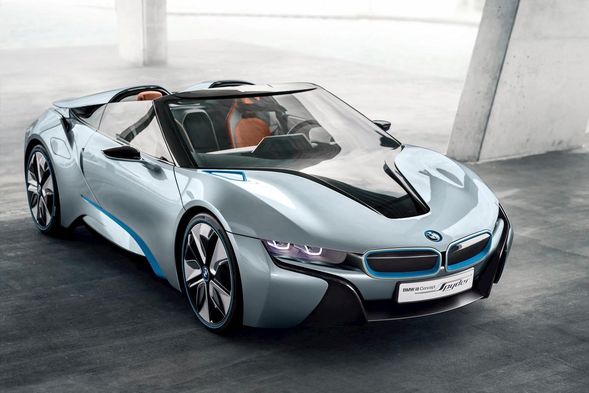El BMW i8 convertible podría salir a la venta en 2018