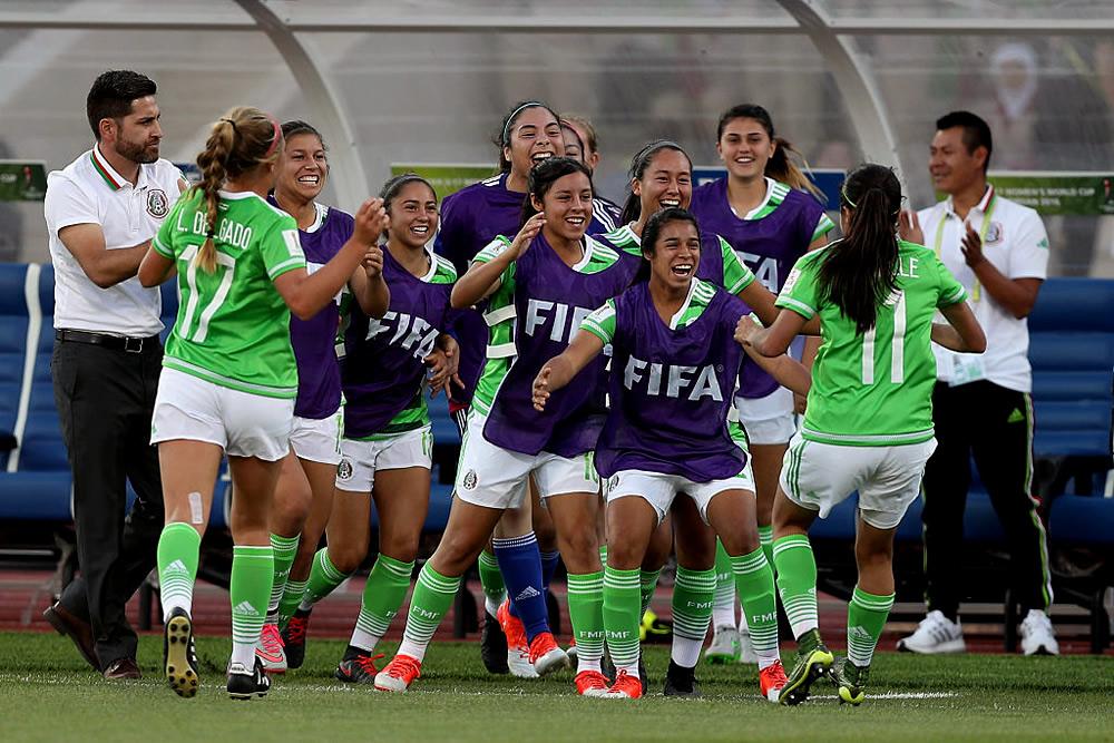 Tri Femenil Sub-17, feliz por debut goleador
