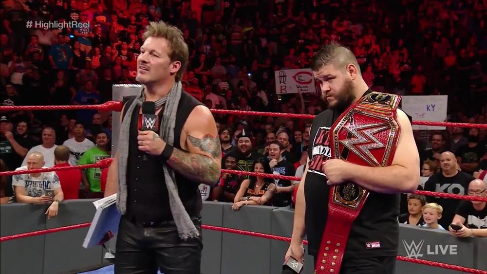 Kevin Owens y Chris Jericho dominaron RAW