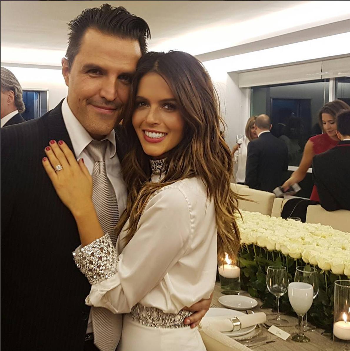 ¡A unos días de su boda! Claudia Álvarez y Billy Rozar visitan el Vaticano