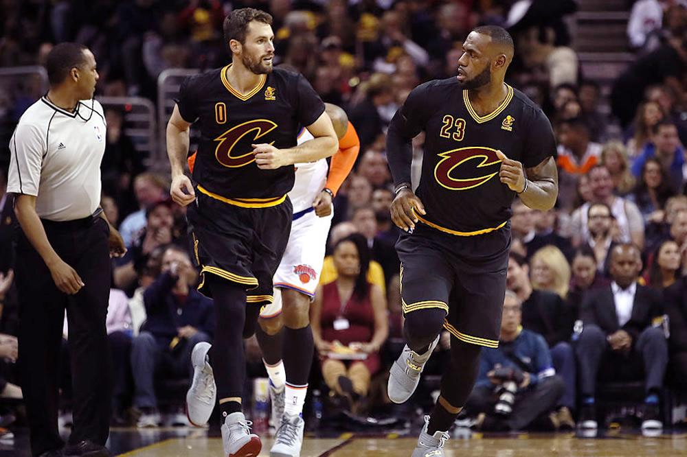Comenzó la NBA con victoria de los campeones Cavaliers