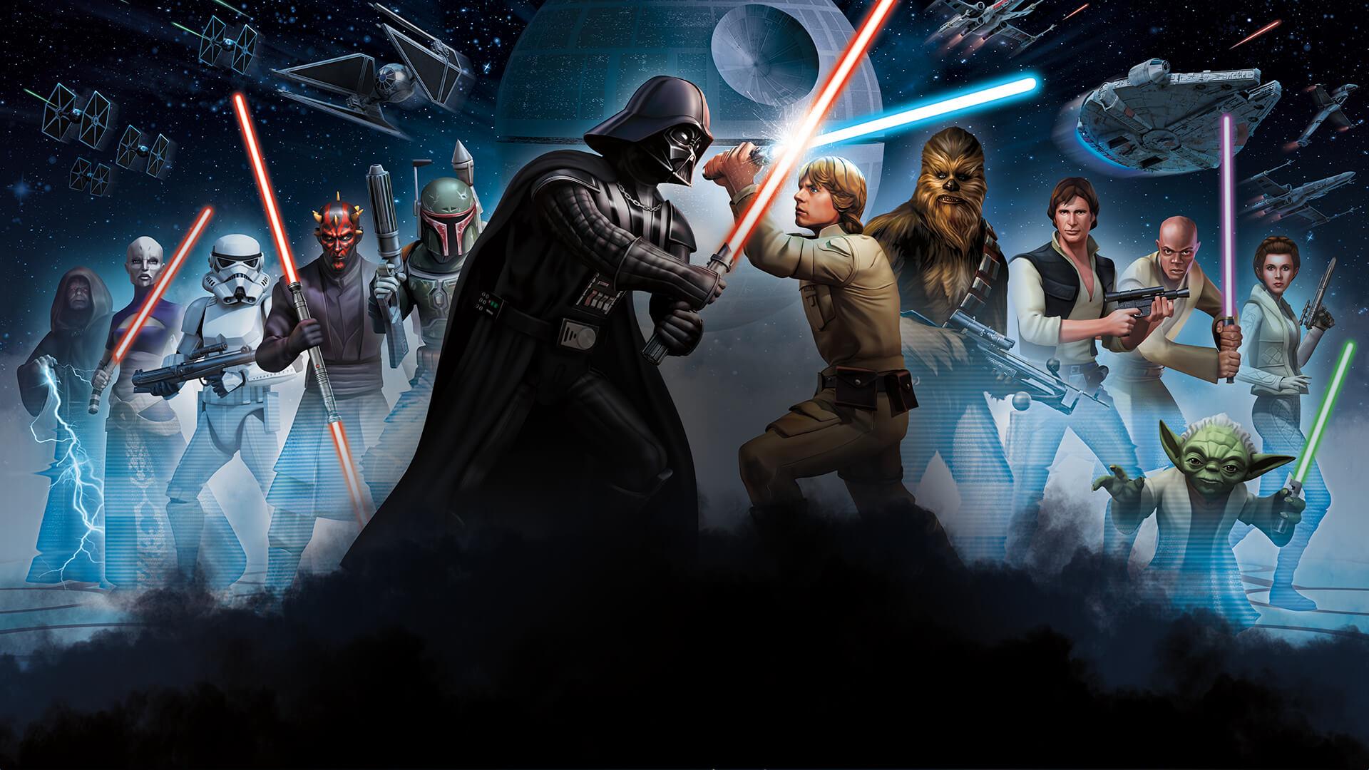 Disfruta de toda la saga de Star Wars en Netflix
