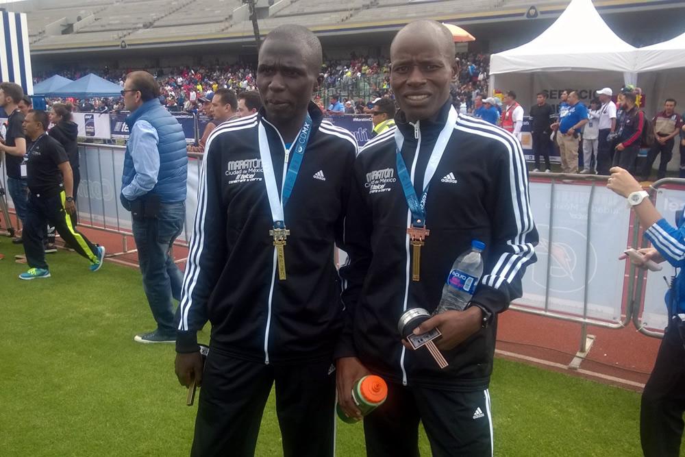 Mnangat impuso hegemonía keniana en la Maratón CDMX