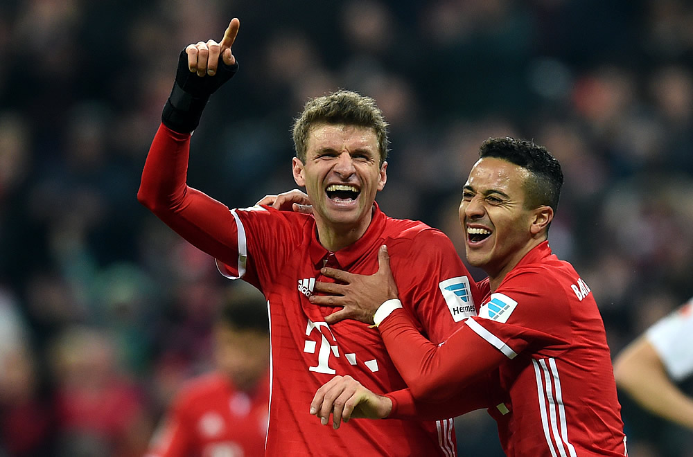 Bayern Munich recuperó la cima de la Bundesliga