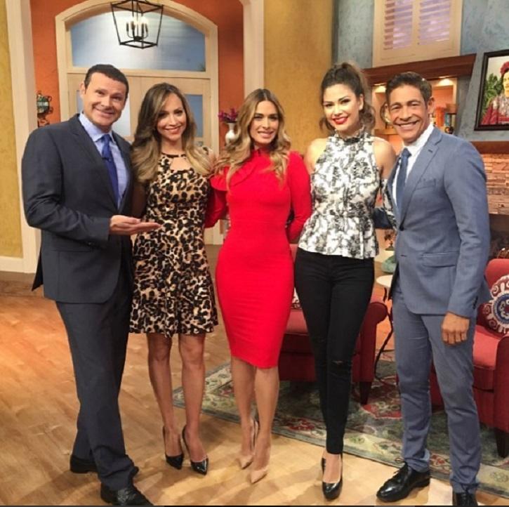"""Galilea genera rumores de salida de """"Hoy"""" al aparecer en otro show matutino"""