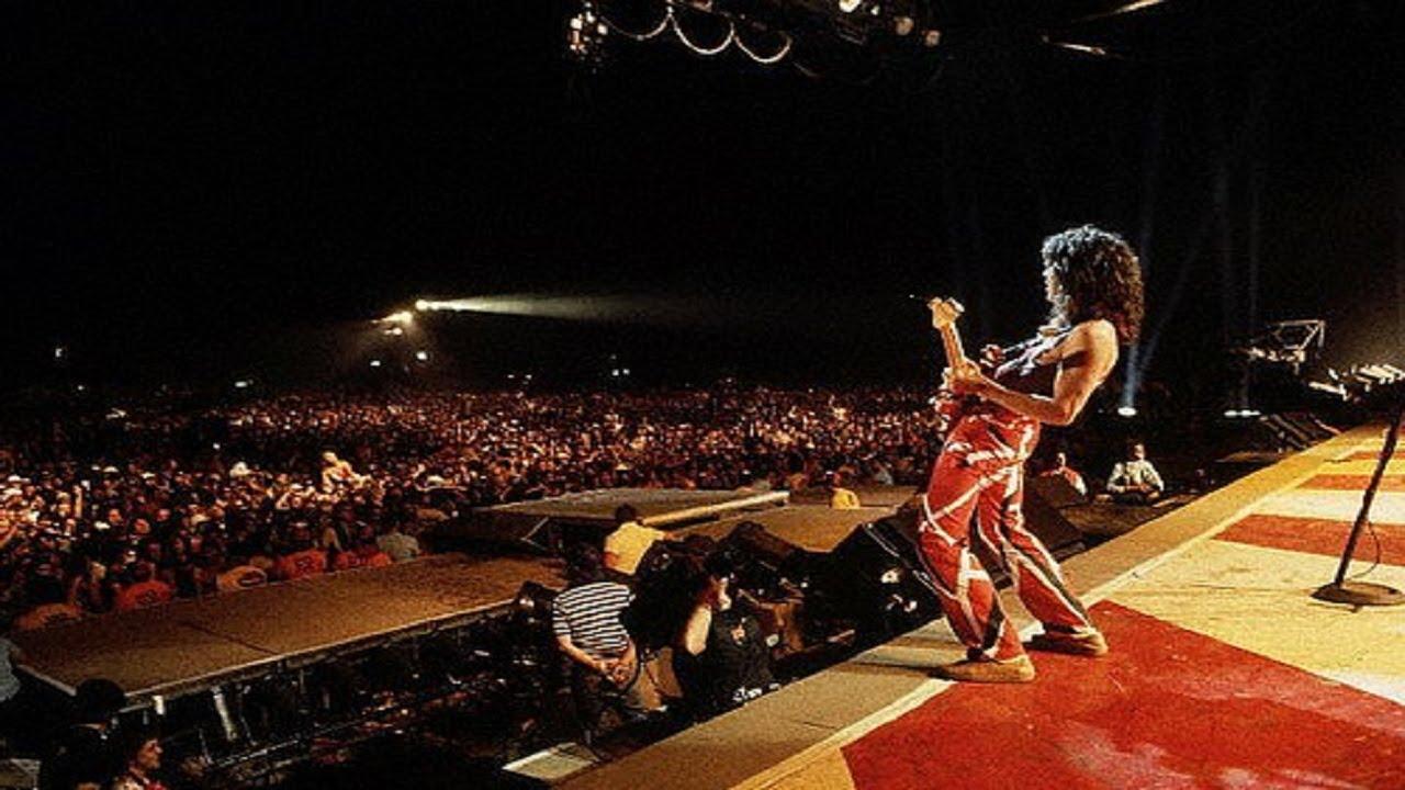 El exuberante catering de Van Halen