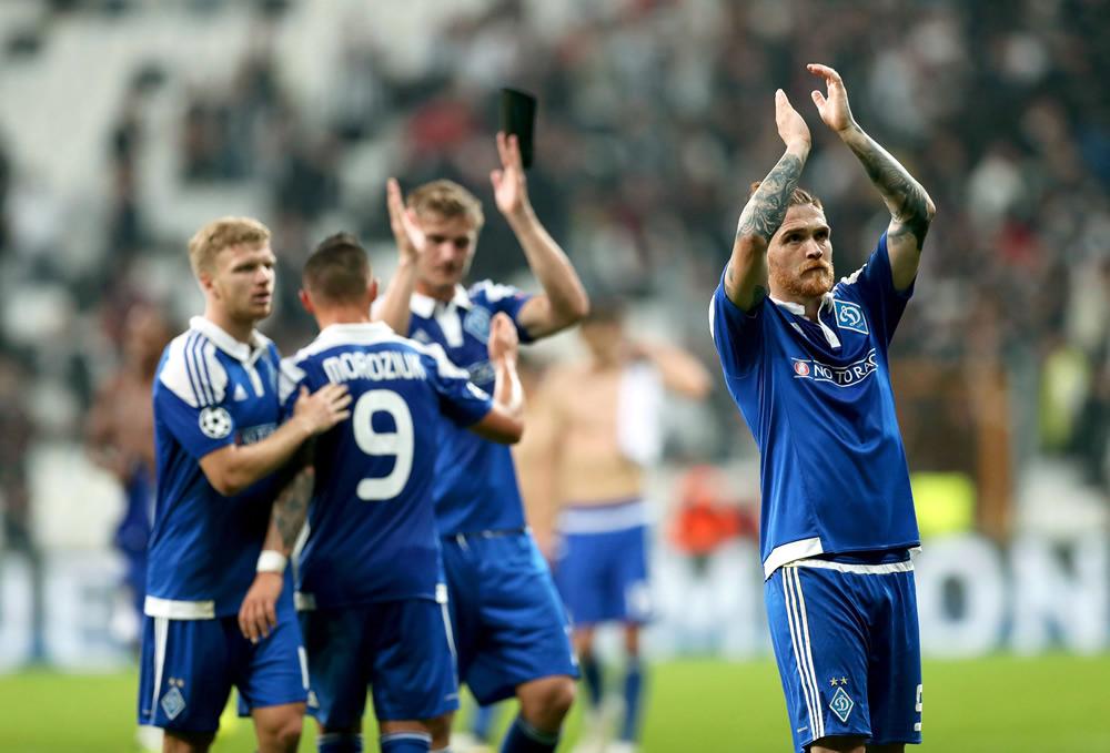 El Dinamo despertó a tiempo para sacar empate en Champions