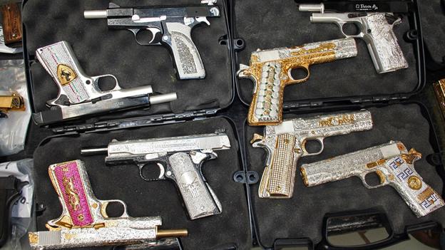Armas de lujo decomisadas por el ej rcito en jalisco - Pistolas para lacar ...