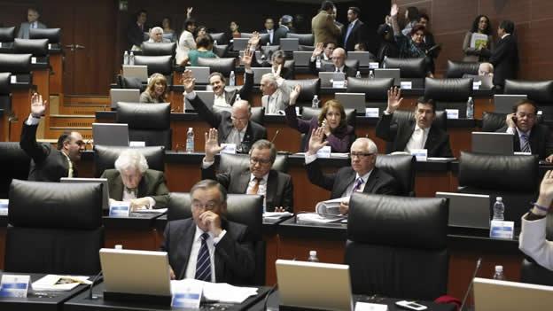 La reforma religiosa avanza sin modificaciones en la for La camara de senadores