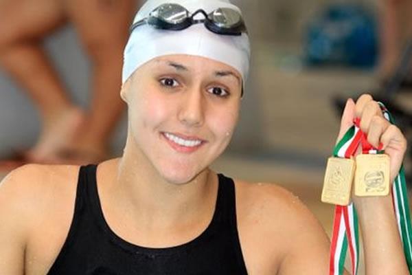 Resultado de imagen para Vianney Trejo natacion