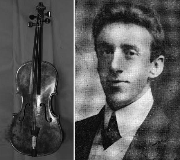 Resultado de imagen de violin titanic