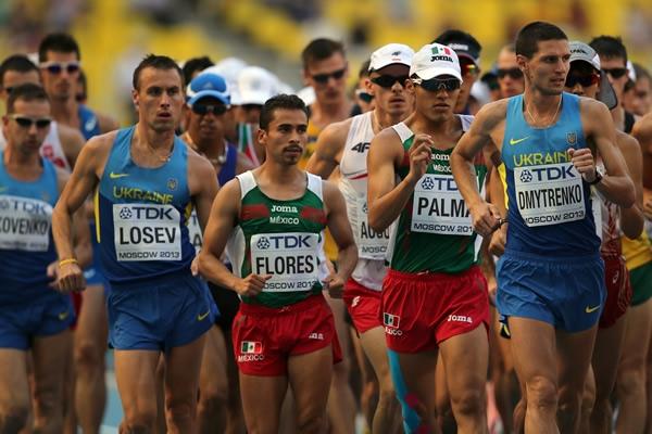 Chileno gana el campeonato mundial de Marcha