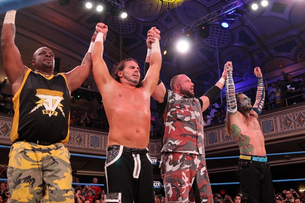Team 3D se impuso a The Hardy Boyz en Impact Wrestling | MedioTiempo