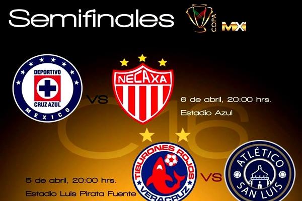 Definidos horarios para Semis de Copa MX | MedioTiempo