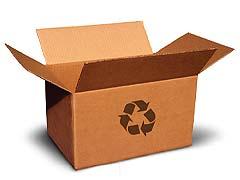 Carton reciclado